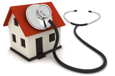 Home and stethoscope