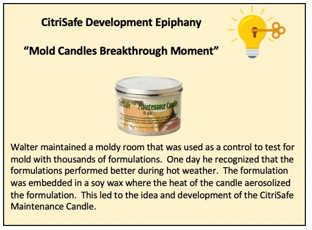 citrisafe mold candles