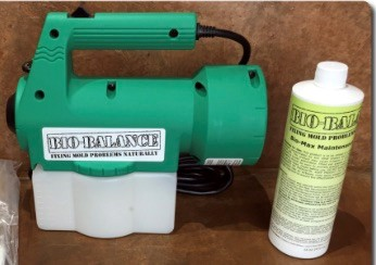 CitriSafe and Bio-Balance Solutions Mold Fogging
